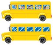 bussskola Royaltyfri Foto