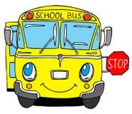 bussskola Arkivbilder