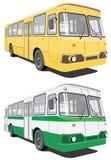 bussstad Arkivbild