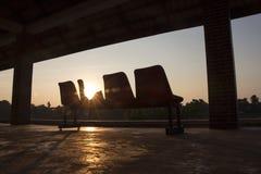 Bussstation Royaltyfri Bild