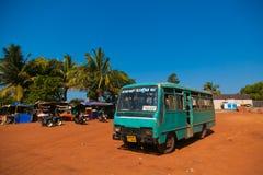 Bussstation Arkivfoto