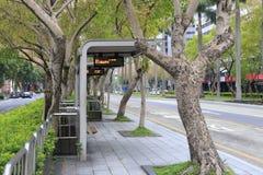 Bussstation av den taipei staden, taiwan Royaltyfri Bild