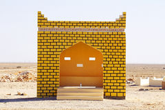 Bussstation i Oman Fotografering för Bildbyråer