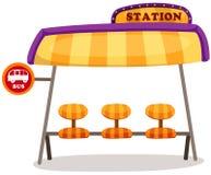 Busstation Royalty-vrije Stock Fotografie