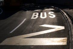 Busstation Stock Fotografie