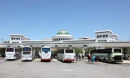 Busstation in Tetouan, Marokko Royalty-vrije Stock Fotografie