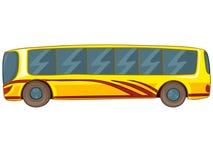 busstecknad film Arkivbilder