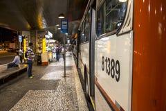 Bussterminal Arkivbild