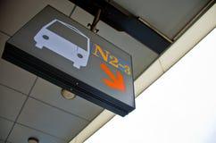 Busstoppschild Stockbild
