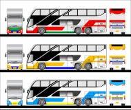 Bussvektor Arkivbild