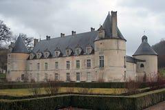 Bussy-Rabutin Schloss Lizenzfreie Stockfotos