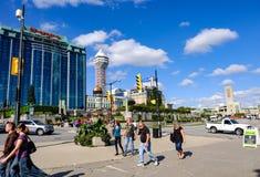 Bust туристское назначение Ниагары, Онтарио, Канады стоковая фотография rf