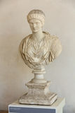 Bust of Antonina Minor  in the baths of Diocletian in Rome. Stock Photography