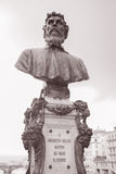 Bust of Benvenuto Cellini, Florence Royalty Free Stock Photo