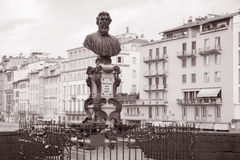 Bust of Benvenuto Cellini, Florence Stock Photo