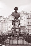 Bust of Benvenuto Cellini, Florence Stock Photography