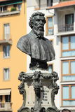 Bust of Benvenuto Cellini Stock Photos