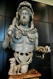 Bust of Commodus as Hercules Stock Photography