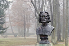 Bust of the composer Franz Liszt Stock Photo