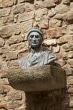 Bust of Dante Alighieri Stock Photo