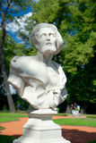 Bust of Diogenes, Summer Garden, Saint Petersburg Royalty Free Stock Photography