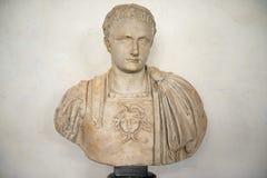 Bust of Domitian, Uffizi Gallery, Florence Stock Photography