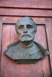 A bust on the door of Mariacki door Royalty Free Stock Photos
