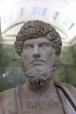 Bust of the Emperor Lucius Verus Royalty Free Stock Photography