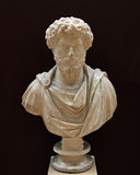 Bust of Emperor Marcus Aurelius Royalty Free Stock Photos