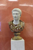 Bust of the Emperor Tiberius Royalty Free Stock Images