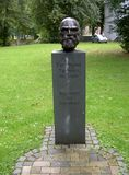 Bust of Ferdinand Tönnies, sociology founder Stock Images