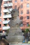 Bust of Francisco Goya royalty free stock photo