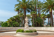 Bust of french composer Hector Berlioz in Monte Carlo. Royalty Free Stock Photo