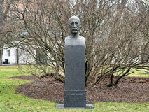 Bust of Fridtjof Nansen in Oslo, Norway Royalty Free Stock Photos