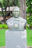 Bust in front of Procuradoria Geral do Municipio i. Foz do Iguacu, Brazil - January 06, 2018: Bust in front of Procuradoria Geral do Municipio in downtown of Foz Royalty Free Stock Photography