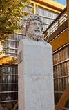 Bust of Greek explorer Euthymenes (1804). Marseilles, France Stock Photo