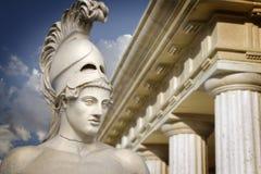 Bust of the greek statesman Pericles. Greek sculpture of the General Pericles, Greek art Royalty Free Stock Photo