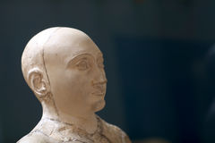 Bust of Gudea Royalty Free Stock Photos