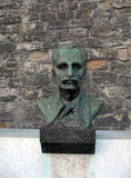 Bust of hero  leader in Kalemegdan Park Fortress  Belgrade Serbi Stock Image