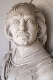 Oliver Cromwell Bust in London Stock Images