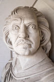 Oliver Cromwell Bust in London Stock Photography