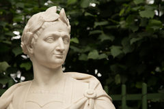 Bust of Julius Caesar Stock Image