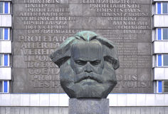Bust of Karl Marx Royalty Free Stock Photo