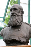 Bust of King Leopold II of the Belgians. Bust of the infamous King Leopold II of Belgium (1935 - 1909) in the Royal Palace in Laeken, Belgium Royalty Free Stock Photography
