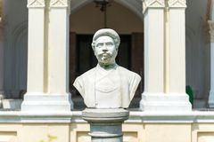 Bust of the Maharaja of Uttara Gano Bhaban Stock Photos