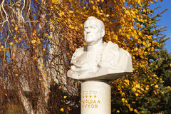 Bust of the marshal Zhukov Royalty Free Stock Image