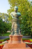 Bust of mayor Andreas Zelinka in Vienna, Austria Royalty Free Stock Image