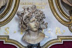 Bust of Medusa. Author Stock Image