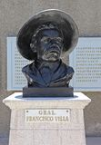 Bust of Pancho Villa Royalty Free Stock Photo