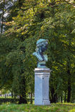 Bust in park Royalty Free Stock Photography